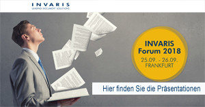 Invaris Forum 2018 Präsentationen Online